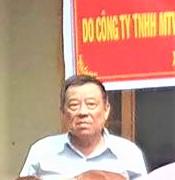 Ô. Trần Văn Danh - Cty Nam Việt
