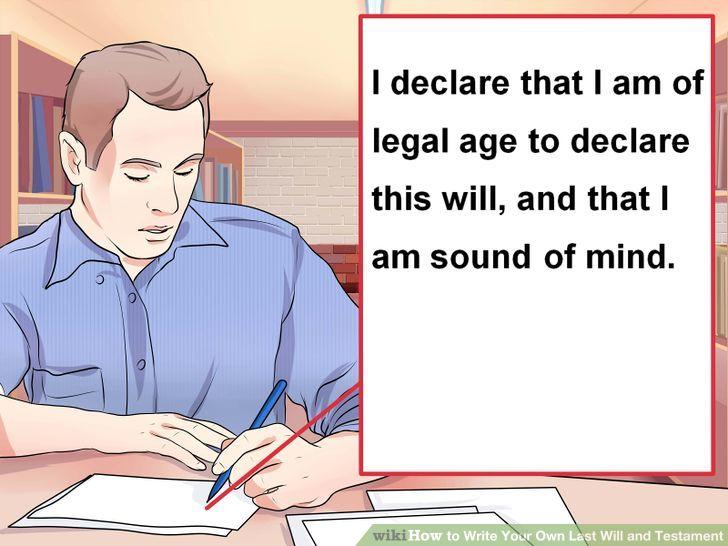 di chúc hợp pháp